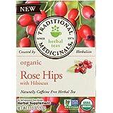 Traditional Medicinals - Organic Rose Hips Tea - 16 Tea Bags