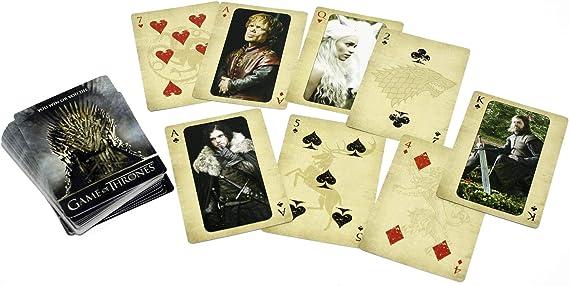 Juego de Tronos 52 cartas de juego con motivos de la serie.: Amazon.es: Hogar