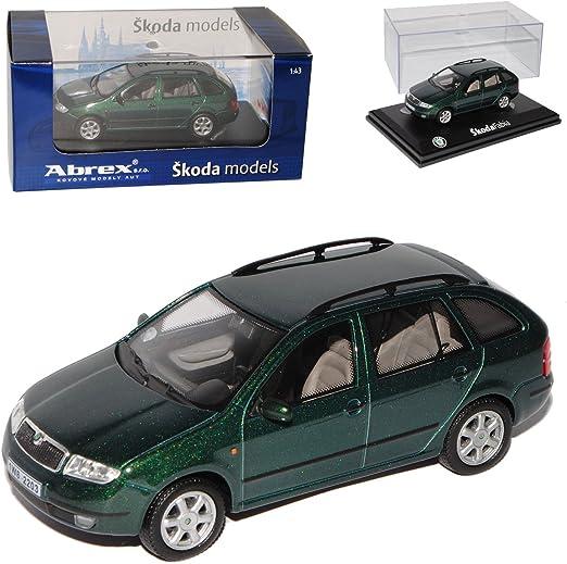Skoda Fabia I 1 Kombi Combi Green Nature Metallic GrÜn 143ab004h 1 43 Abrex Modellauto Modell Auto Spielzeug