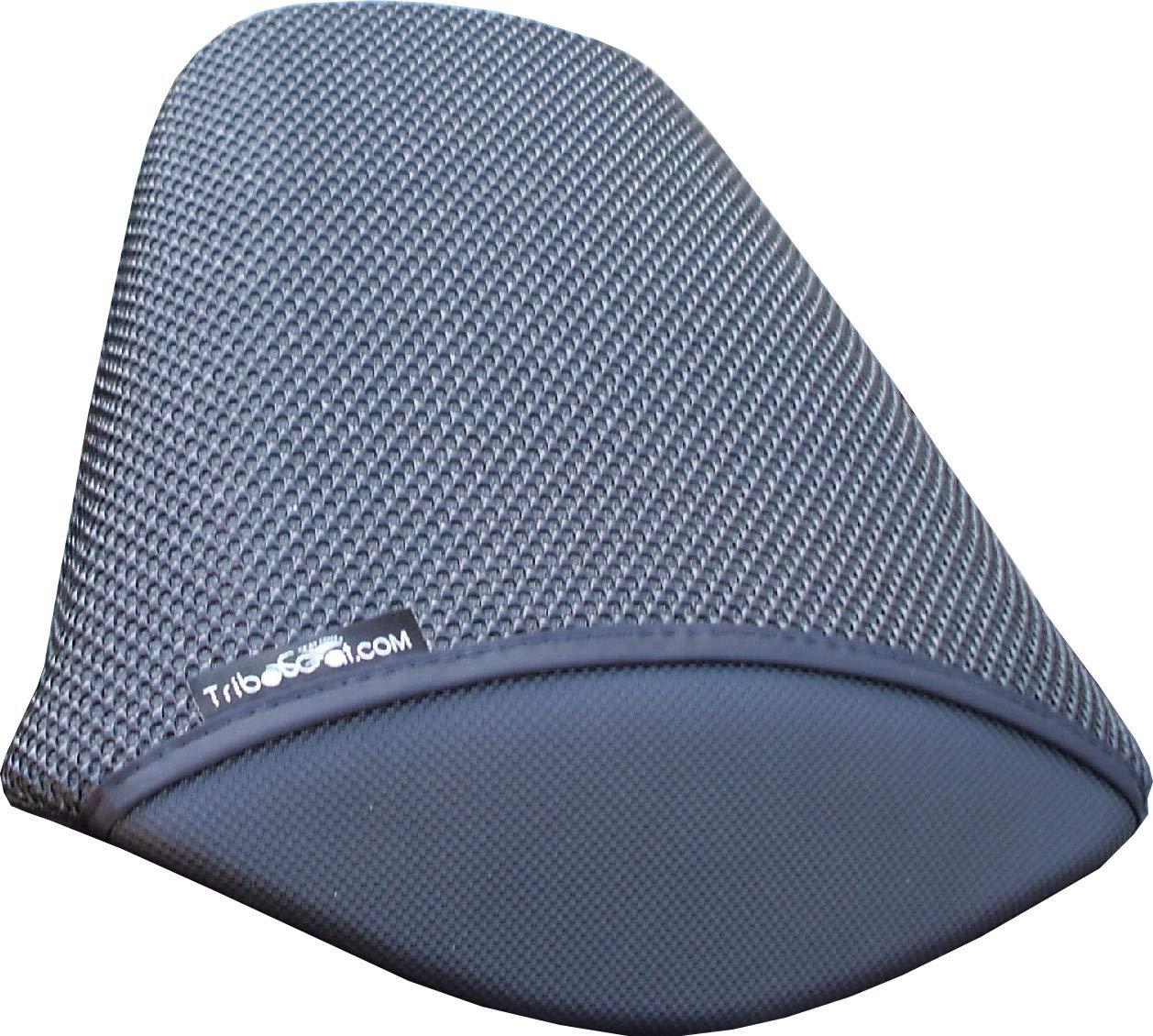 Cubierta TRIBOSEAT para Asiento Antideslizante Accesorio Personalizado Negro Compatible con Honda NC750X DCT 2019