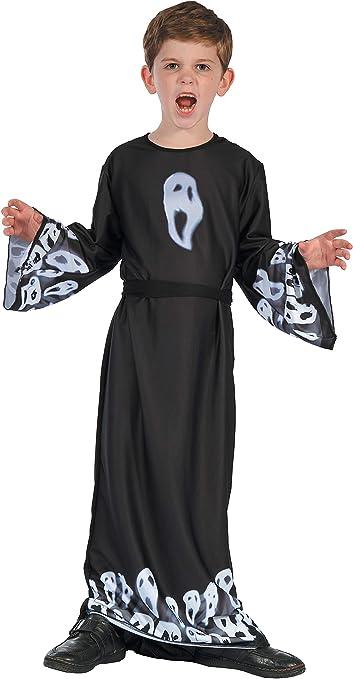 Ciao - Disfraz infantil unisex Fantasma Scream Ghost, 5-7 años ...