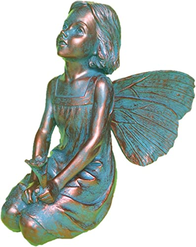HomeStyles Gabriella Fairy 96008 Large Statue Bronze Patina