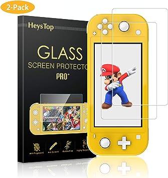 HEYSTOP Protector de Pantalla para Nintendo Switch Lite, HD Film ...