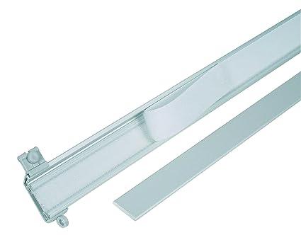 Mydeco 63368 Carrello In Alluminio Binario Per Tenda A Pannello Tenda In  Tessuto Con Lunghezza 60