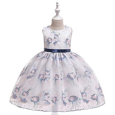 Vestido Fiesta Niña De Princesa Vestido De Princesa Trajes ...
