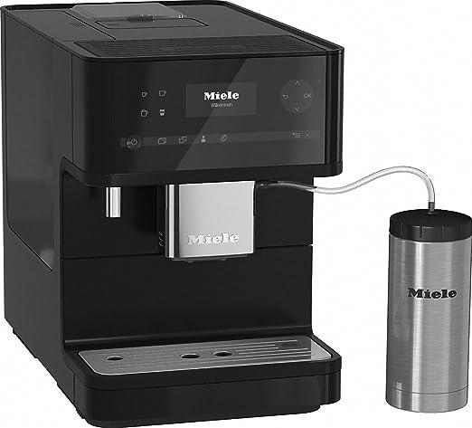 Miele CM 6350 Independiente 1.8L Negro - Cafetera (Independiente, 1,8 L, Granos de café, De café molido, Molinillo integrado, 1500 W, Negro): Amazon.es: Hogar