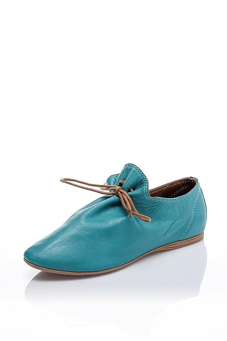 42dd31c75fd82 bueno Cerrado Mujer, Color Azul, Talla 36  Amazon.es  Zapatos y complementos