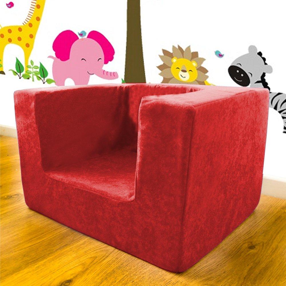 Shopisfy Children's Single Foam Armchair Seat - Black