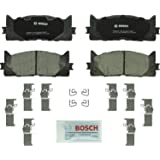Bosch BC1293 QuietCast Premium Ceramic Disc Brake Pad Set For: Lexus ES300h, ES350; Toyota Avalon, Camry, Front