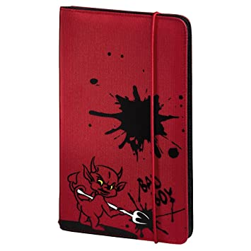 Hama CD Tasche Up to Fashion Rot: Amazon.de: Computer & Zubehör
