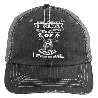528bf6fcf93 Amazon.com  I Fear No Evil Trucker Cap