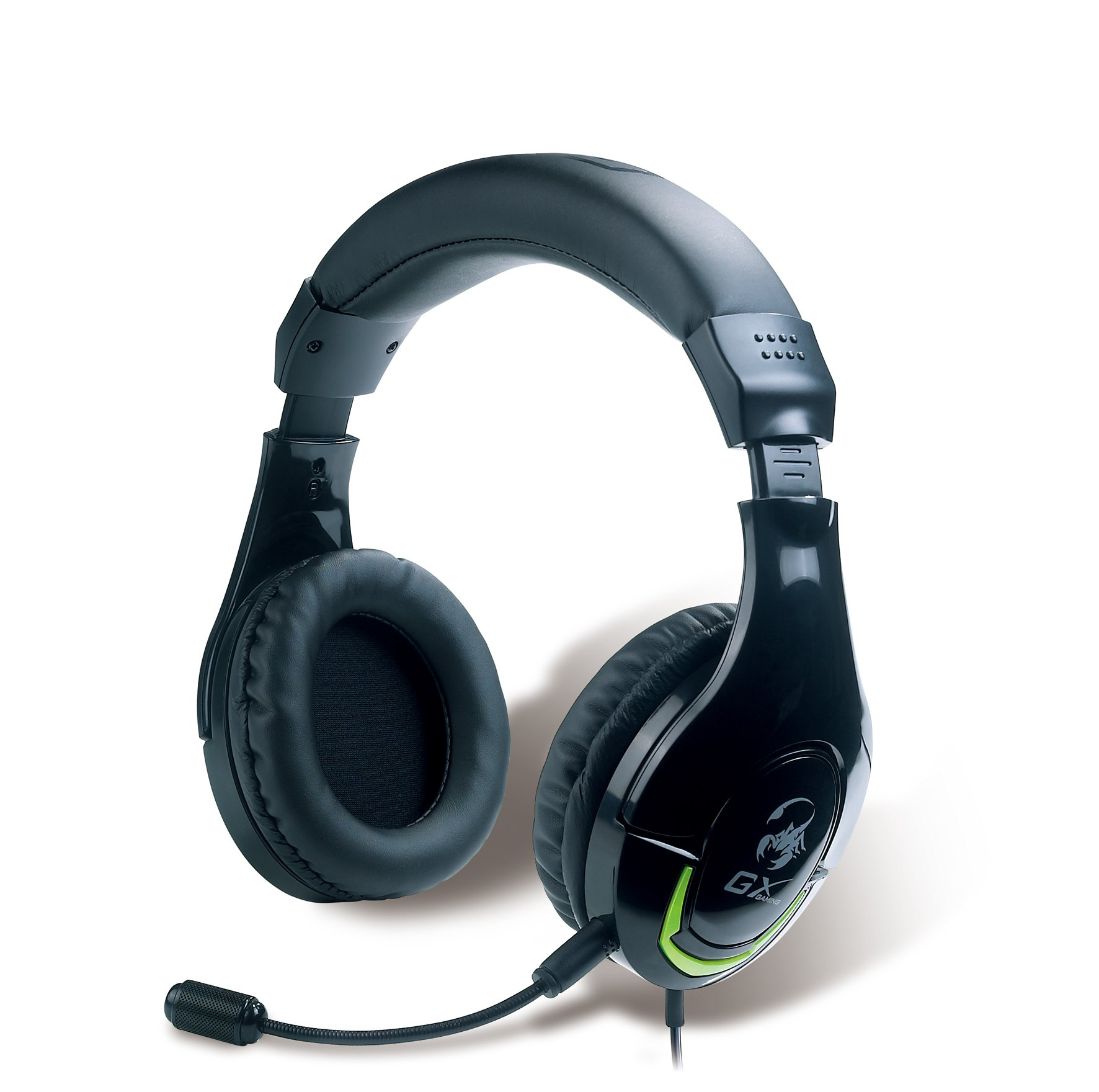 Genius GX-Gaming Mordax Gaming Headset for Mac, PC, PS3, XBOX360 (MORDAX HS-G600)