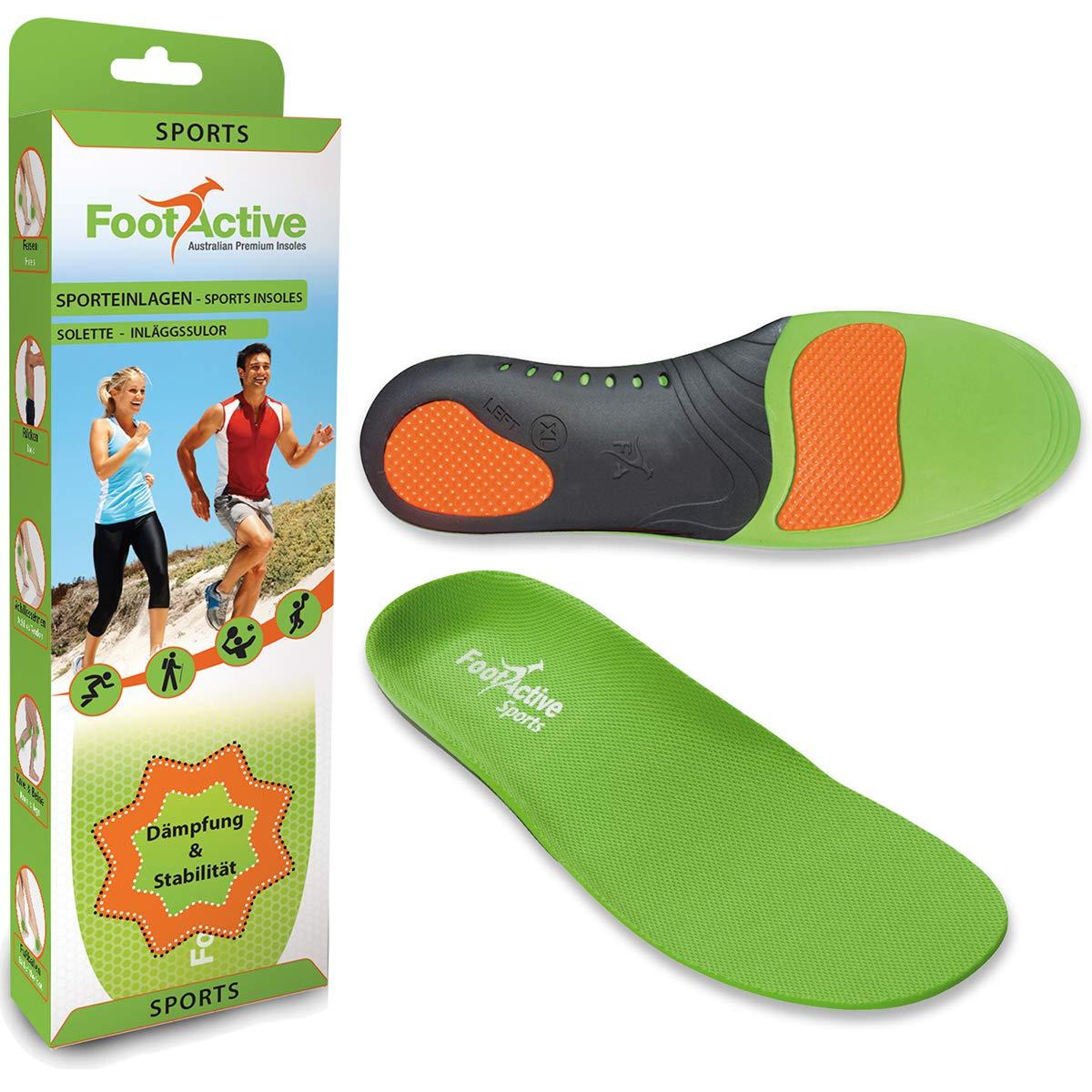 FootActive SPORT - Einlegesohlen für Sport, Freizeit und Beruf