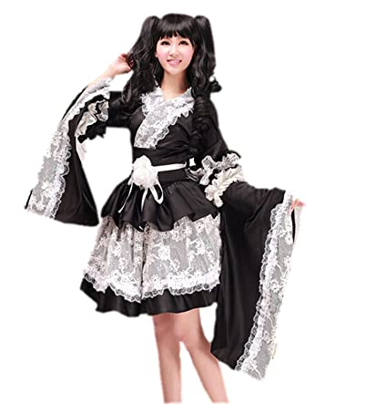 Japonés Geisha Kimono japonés Anime - Manga - de disfraz de grupo ...