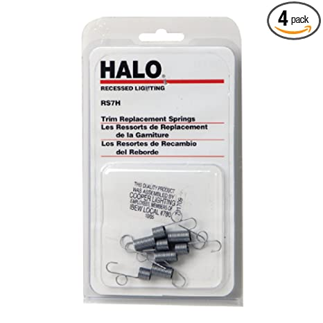 halo rs7h replacement coil springs for use with trims blister