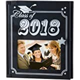 Class of 2018 Photo Album with Frame, High School, College - Holds 200ct. 4 x 6 Photos
