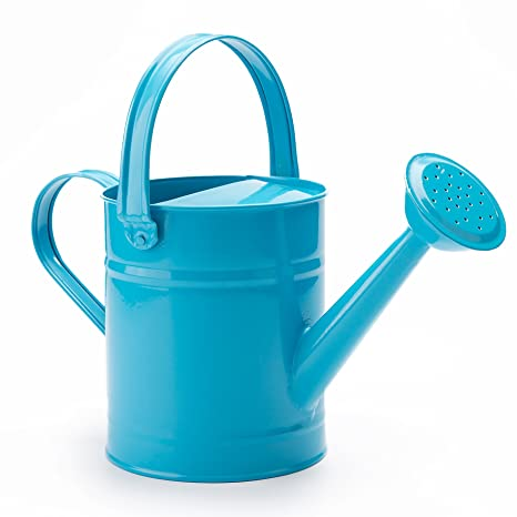 15 letre multi color metal watering cankids children garden watering bucket with anti - Garden Watering Can