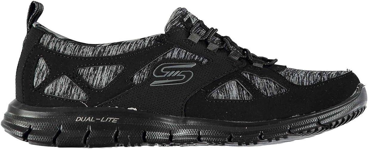 Skechers Mujer Glider Zapatillas Deportivas Negro EU 36 (UK