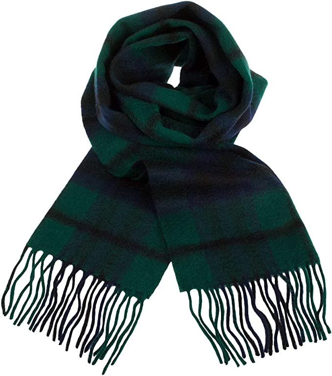 Gents Pure Cashmere Scarf Made in Scotland