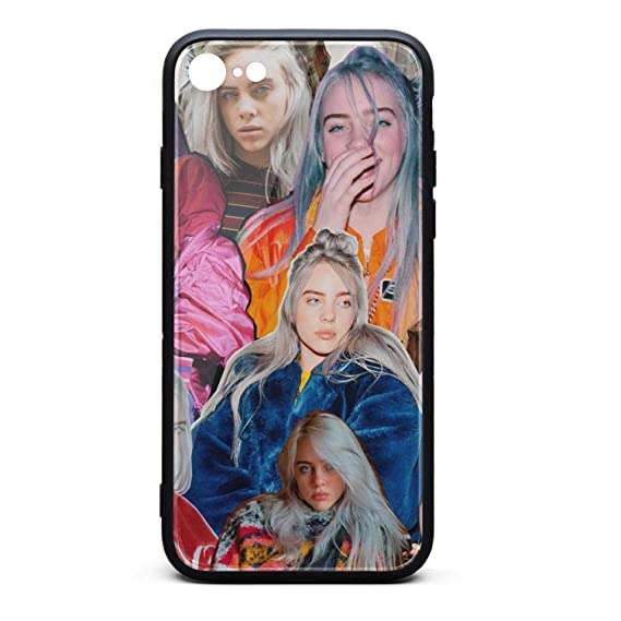 new concept 2a534 25eaf Amazon.com: Billie-Eilish- iPhone 7/8 Case Shock-Absorbing Covers ...