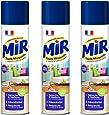 Mir Tapis Moquette Spray Mousse - Nettoyant Tapis et Moquettes - 600 ml - Lot de 3