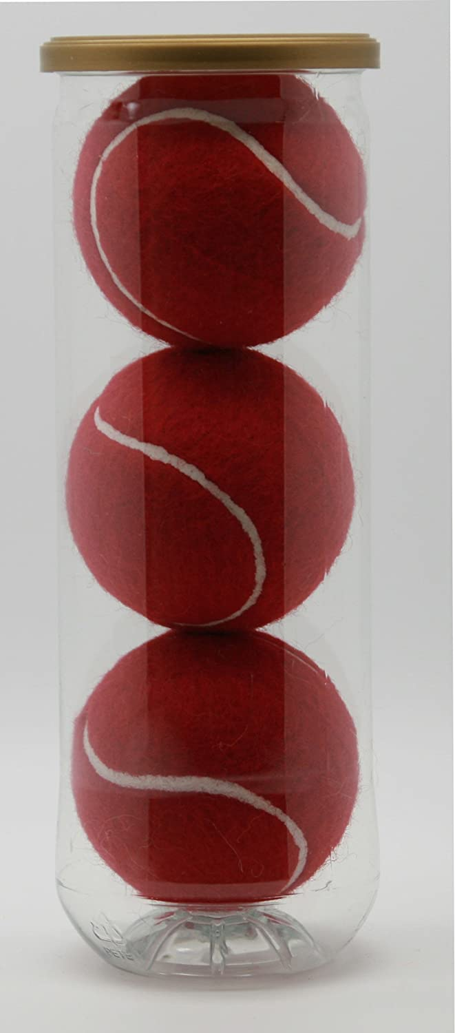 Prices Tubes of Color Tennis Balls Pressureless Made in The UK. Available in Fun Colors Durable and Long Lasting