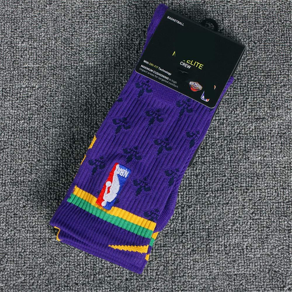 GHQ-WAZI New Orleans Pelicans NBA Athletic Sock Calcetines de ...