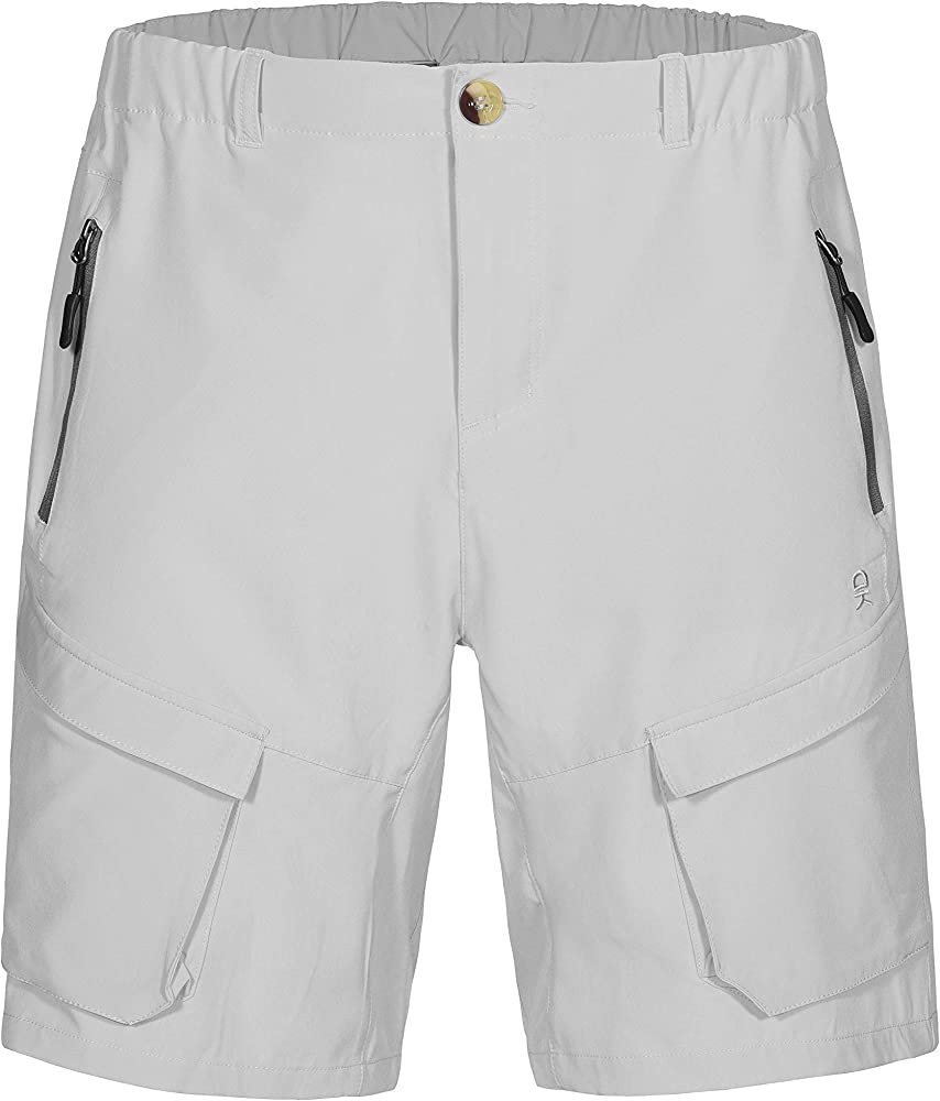 Little Donkey Andy Mens Lightweight Quick-Dry Hiking Shorts Stretch Breathable Sun Protection Outdoor Cargo Shorts