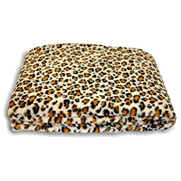 Riva Paoletti Safari Léopard Plaids, Beige, 150 x 200 cm  Amazon.fr ... 1cd7182de90