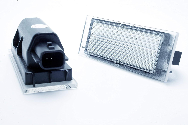 Grand Tour Canbus Clio 4 iV 2 x Feux plaque dimmatriculation LED pour R