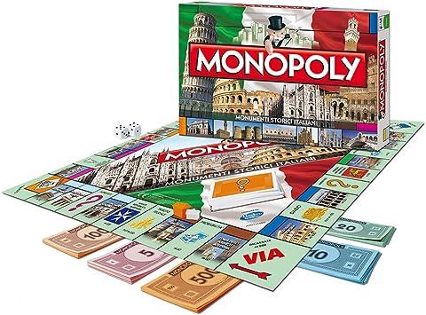 MACDUE - Monopoly, edición Especial de monumentos históricos Italianos: Amazon.es: Juguetes y juegos