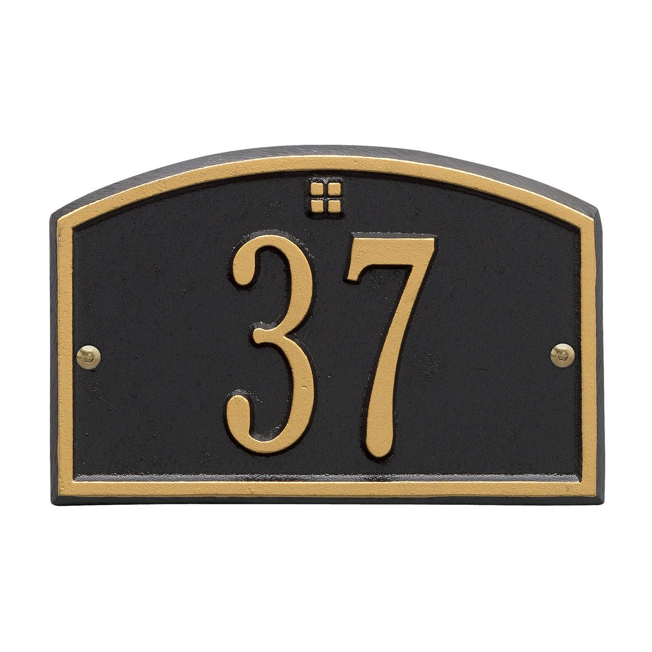 Customized Cape Charles Petite WALL Address Plaque 1 Line 8''W x 5''H