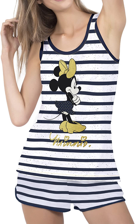 Disney Pijama Tirantes Mujer Minnie Sailor