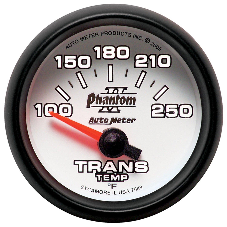 Auto Meter 7549 Phantom II Electric Transmission Temperature Gauge