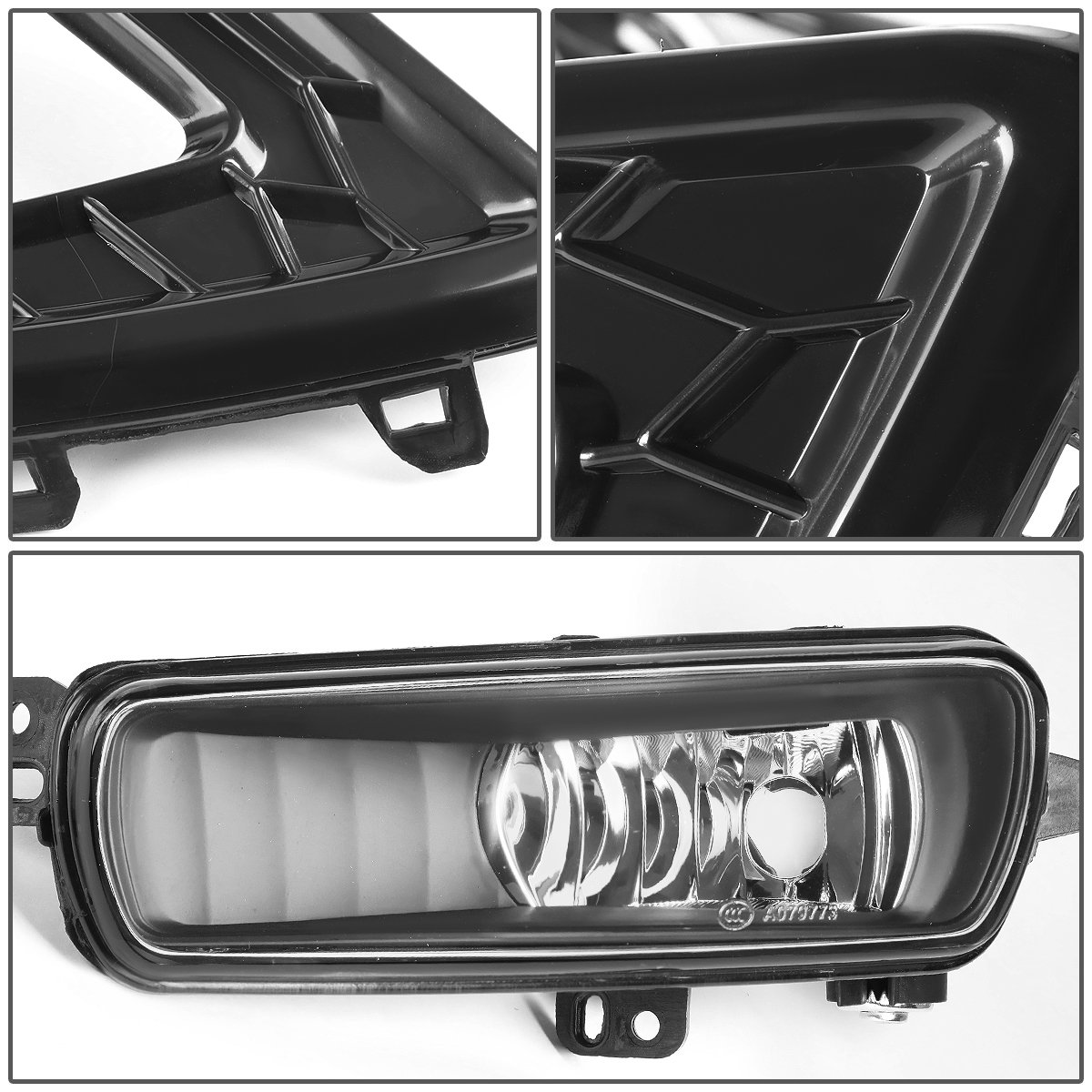 Amazon.com: For Ford Focus Pair of LED DRL Fog Lights + Build-in Turn  Signal+ Wiring+ Bezel (Black Bezel Clear Lens): Automotive