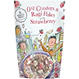 Monsoon Harvest Oats Clusters and Ragi Flakes with Strawberry, 350 Grams