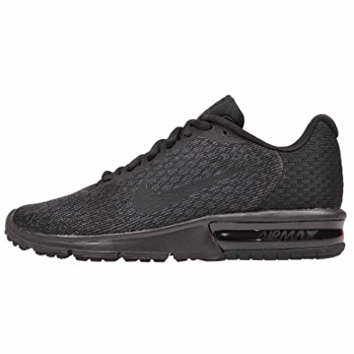 Mujeres Nike Air Max Sequent Talla 2 Running Zapato Negro Talla Sequent f980e7