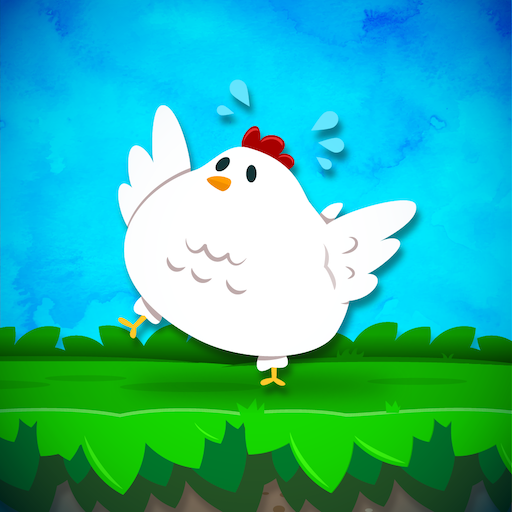 Tiny Chicken Run: Bouncy Egg Dash - popular super simple fun games for free (2019) no wifi (Best Chickens For Eggs)