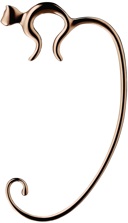 Alessi Fgo01 GP Minou Accroche Sac en Acier Inoxydable 18/10 avec Revêtement en Pvd, Golden Pink ALESSI SPA