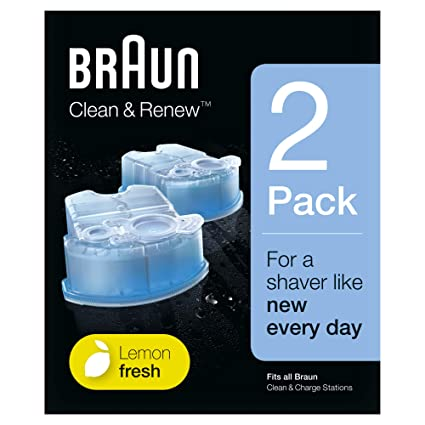 Braun Clean Renew - Pack de 2 recambios de líquido limpiador para el  sistema Clean   Renew 2906d551cde2