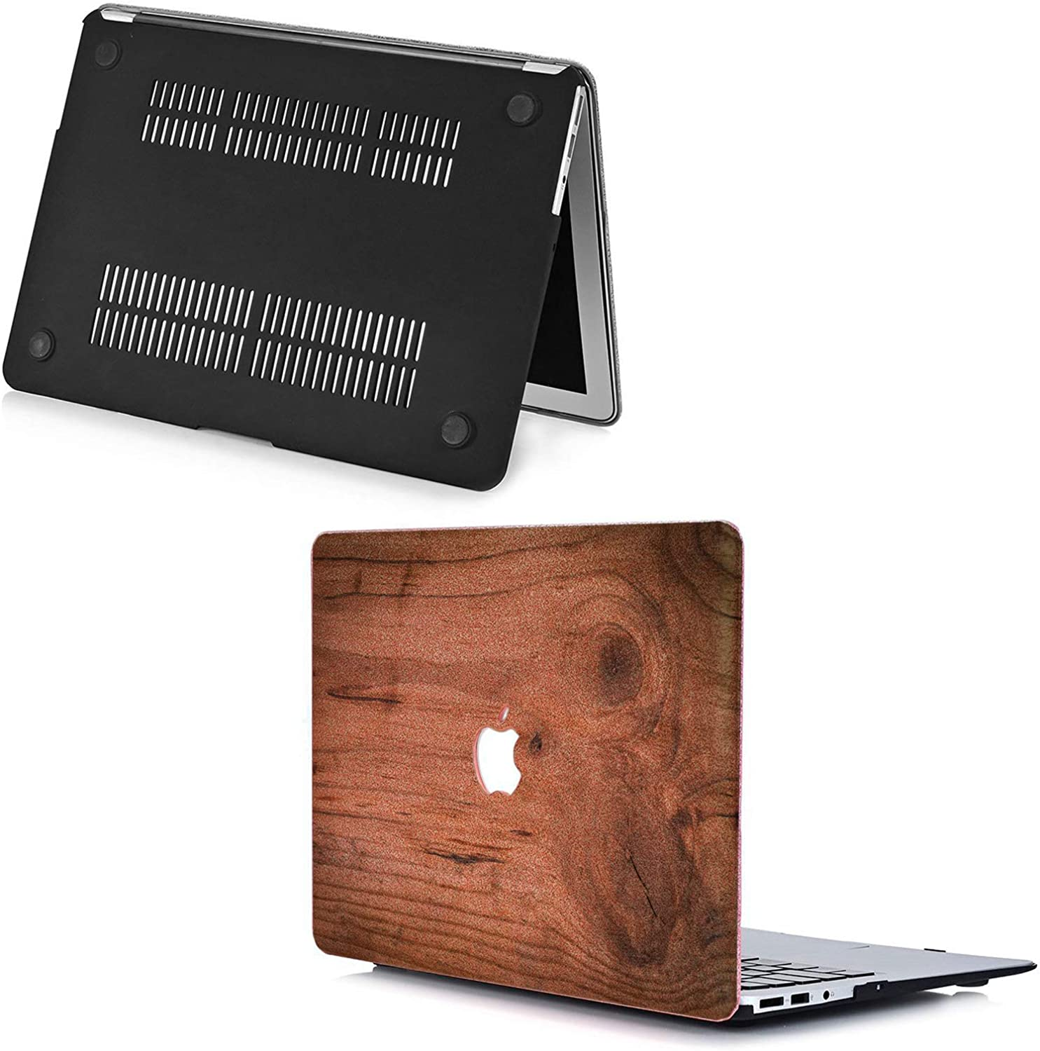 Cavka Hard Glitter Case for Apple MacBook Pro 13 2019 Retina 15 Mac Air 11 Mac 12 Bling Sparkly Wood Shiny Especial New Cover Glossy Design Beautiful Rose Gold Elegant Silver Print Nature Texture