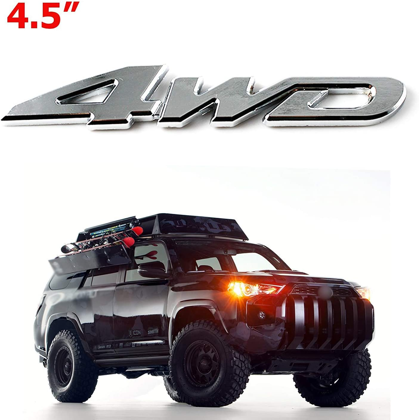 4x4 Off-Road SUV Earrings Silver-Plated