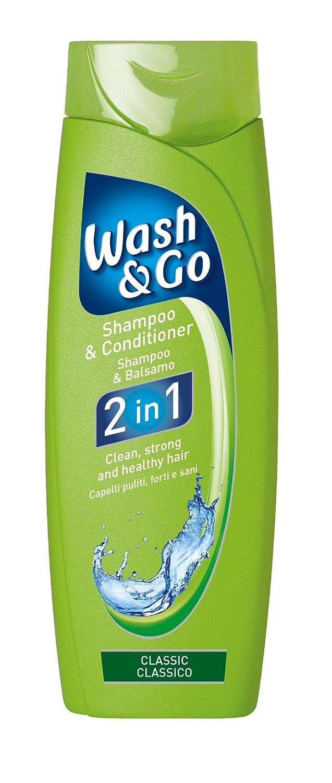 Wash & Go 2in 1Classic Shampoo und Pflegespülung X 9Flaschen Conter 837-0454