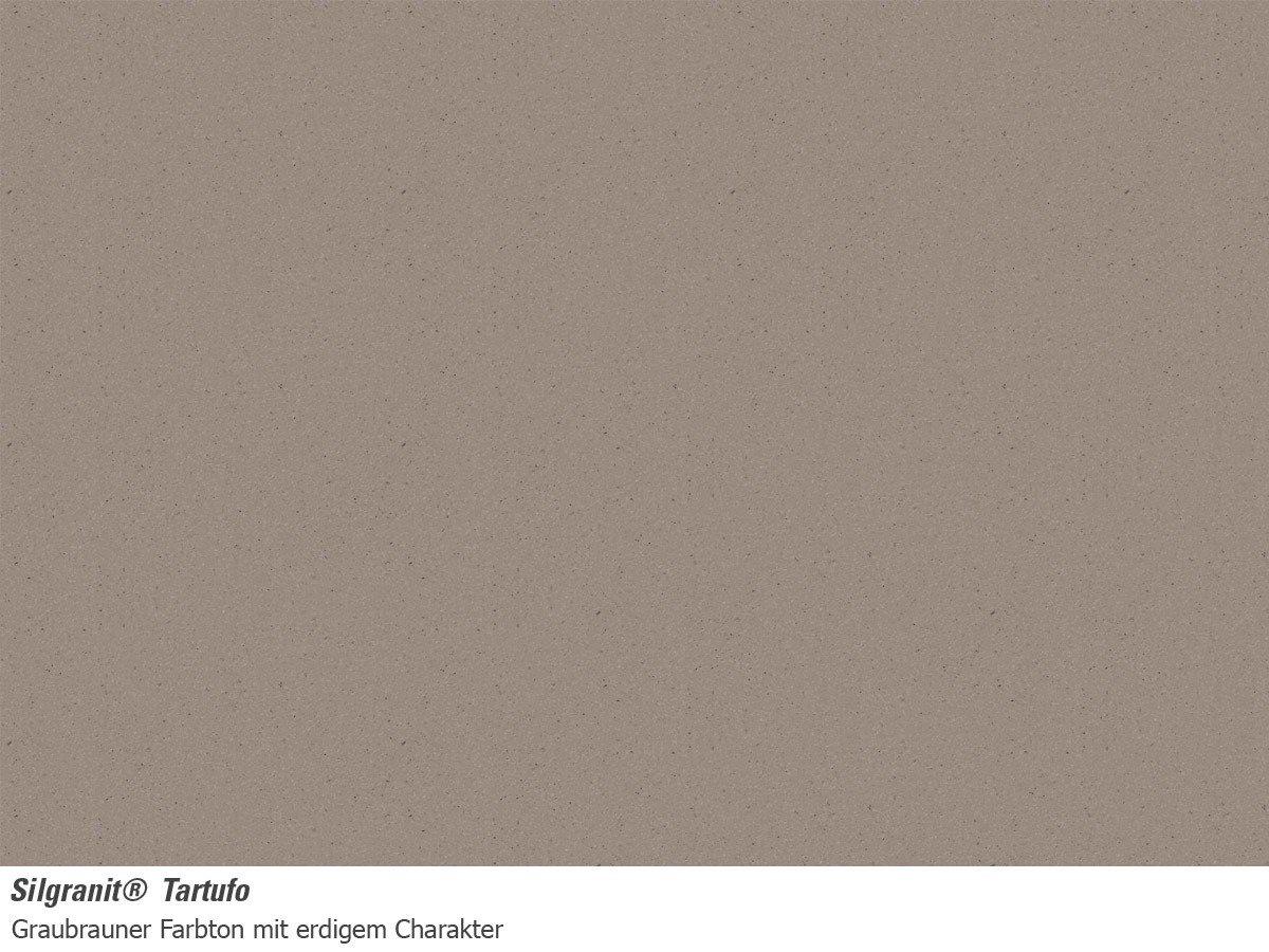 BLANCO ENOS 40 S Fregadero Plata, 1 senos, 320 x 422 mm, 17,5 cm