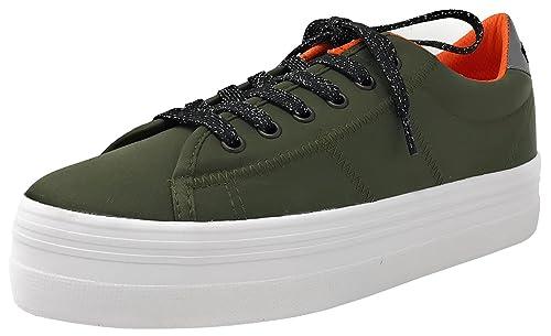 Desconocido No Name Plato Sneaker Kaki, Zapatillas Deportivas-Bambas, Primavera-Verano: Amazon.es: Zapatos y complementos