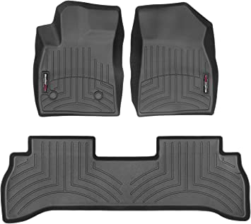 Coverking Front Custom Fit Floor Mats for Select Saturn L-Series Models 70 Oz Carpet Oak