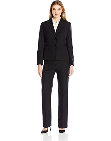 b16dcb731da Le Suit Women s 2 Button Black Pant Suit.  3