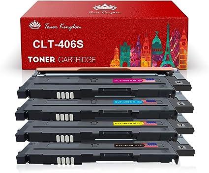 Toner Cartridge for Samsung 406S CLT-K406S K406S Xpress C410W C460FW CLP-365W