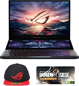"ASUS ROG Zephyrus Duo 15 GX550LXS-XS96 Pro Extreme (i9-10980HK, 48GB RAM, 2TB NVMe SSD, RTX 2080 Super 8GB, 15.6"" FHD 300Hz 3ms, Windows 10 Pro) Gaming Notebook"