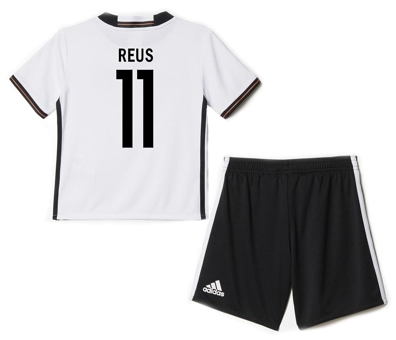 Adidas REUS #11 Germany Home Mini Kit UEFA Euro 2016 /サッカーユニフォーム ミニセット ドイツ ホーム用 ロイス 背番号11 Euro 2016 B01B57RW16 3T